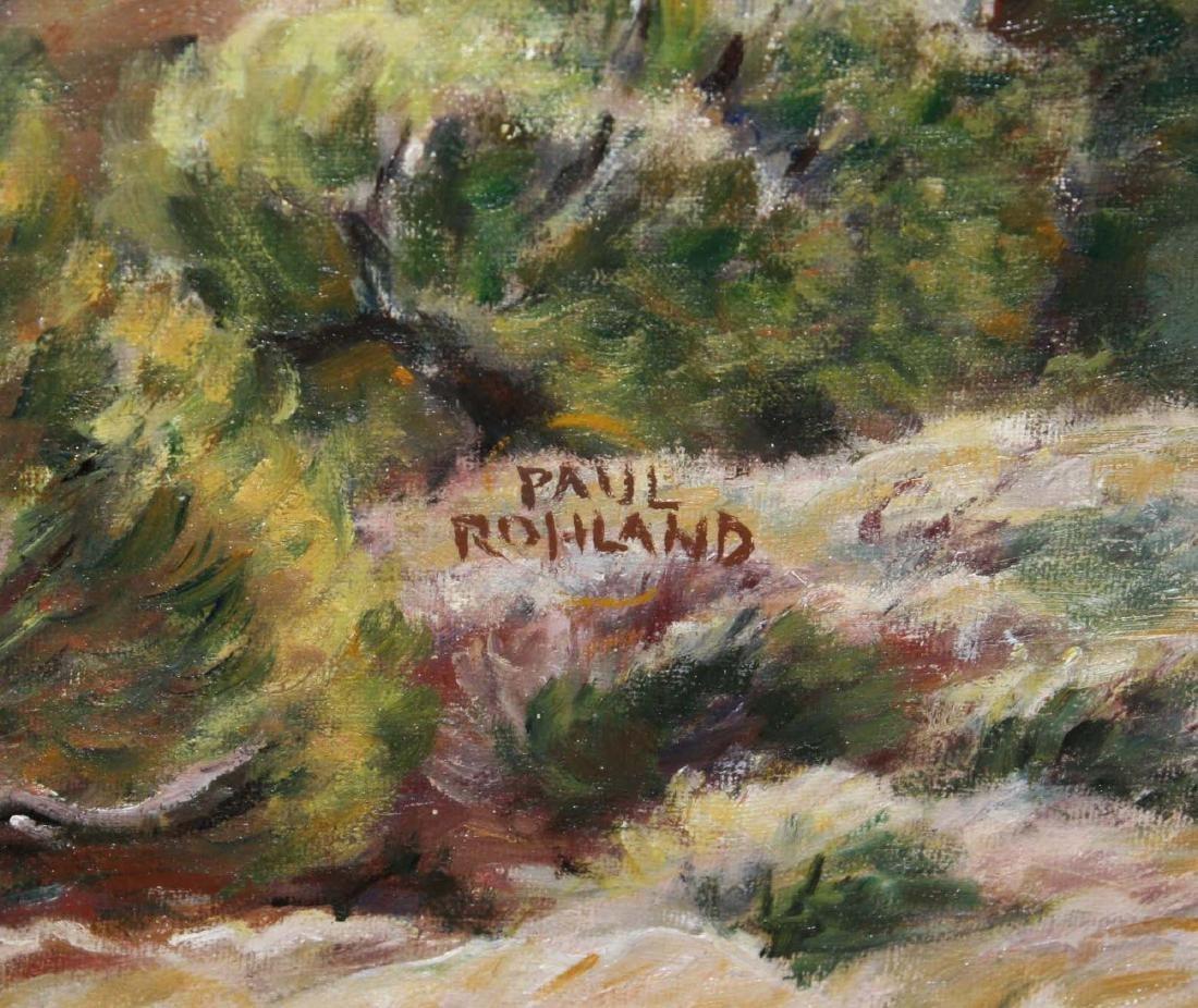 Paul Rohland (AM 1884-1949) Adobe Houses - 3