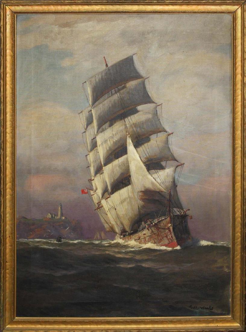 Vivian Forsythe Porter (1880-1982) Tall ship