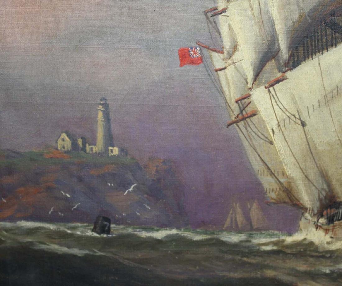 Vivian Forsythe Porter (1880-1982) Tall ship - 2