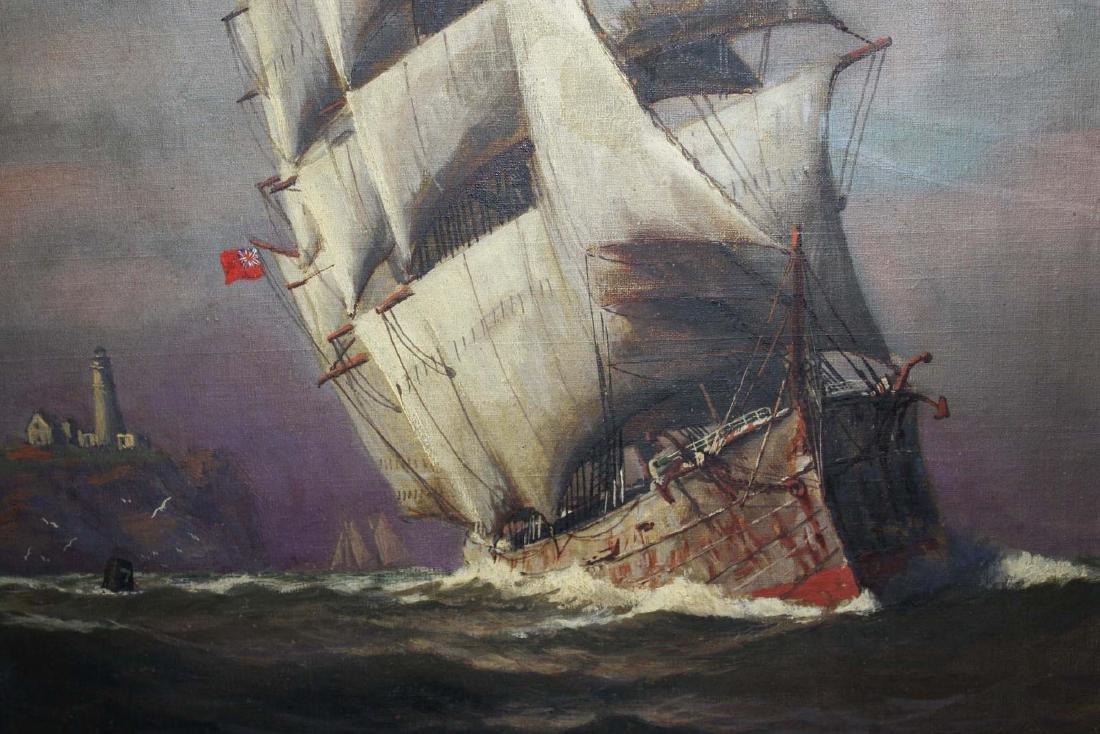 Vivian Forsythe Porter (1880-1982) Tall ship - 4