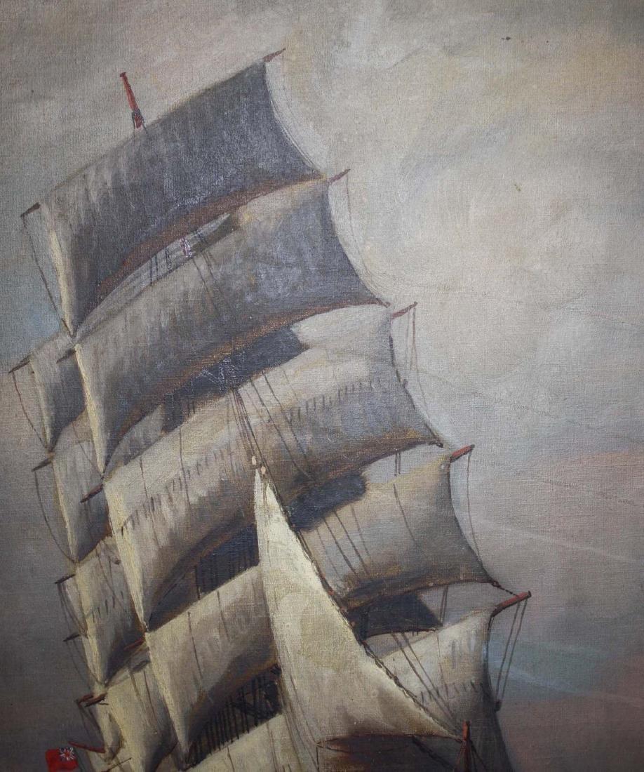 Vivian Forsythe Porter (1880-1982) Tall ship - 5