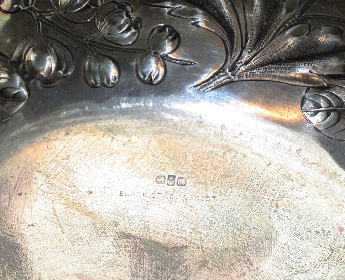 Gorham repousse sterling bowl - 8