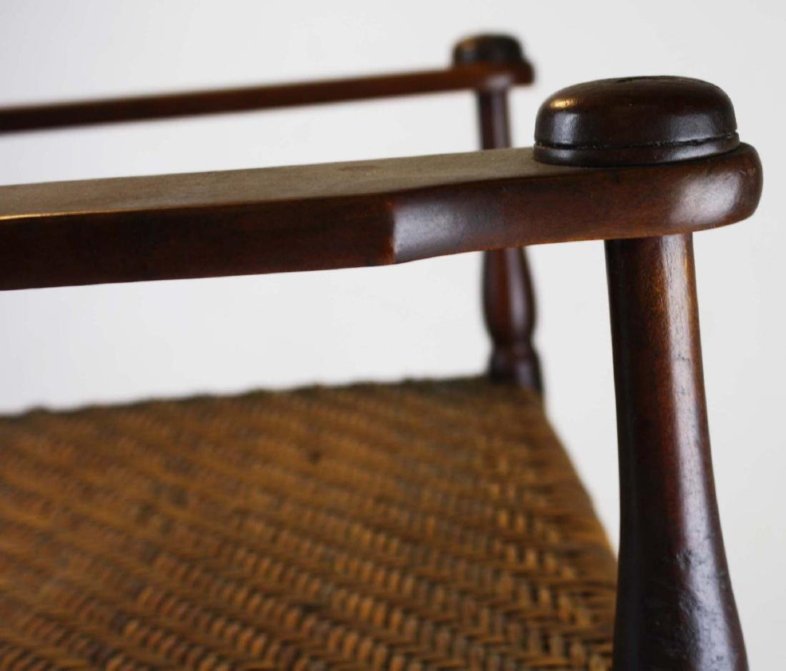 Shaker caned seat rocker in old finish - 6