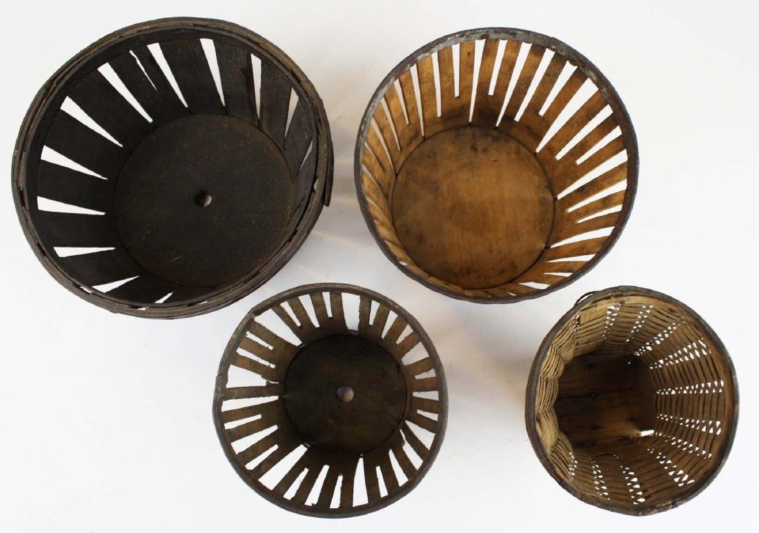 group of Shaker berry baskets - 2