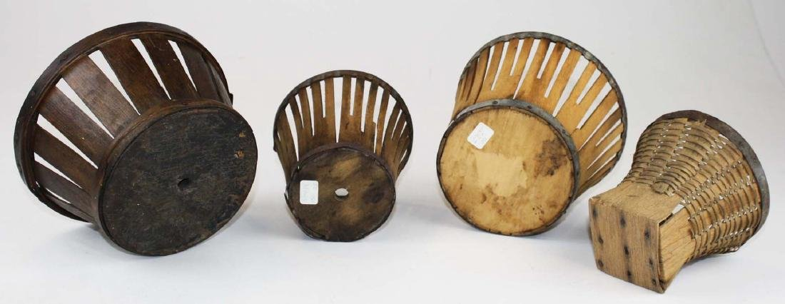 group of Shaker berry baskets - 3