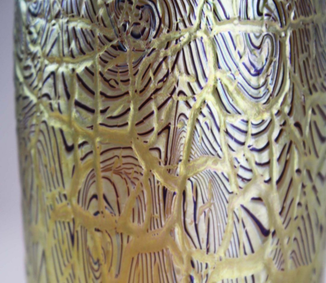 Orient & Flume  art glass vase - 4