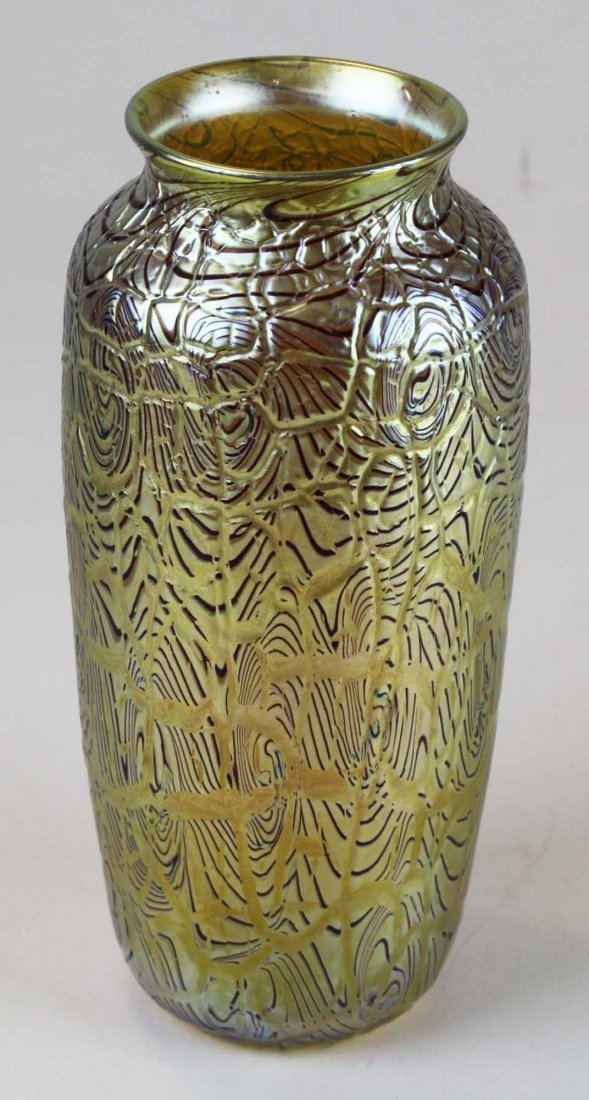 Orient & Flume  art glass vase - 5