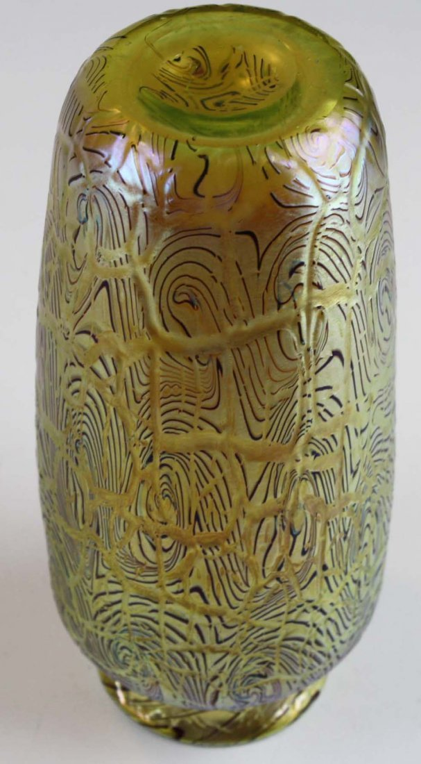 Orient & Flume  art glass vase - 6
