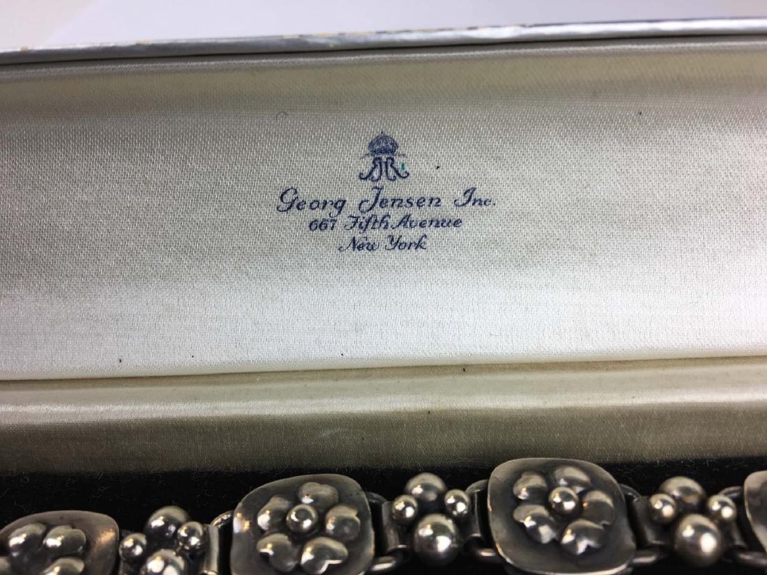 George Jensen sterling bracelet - 2