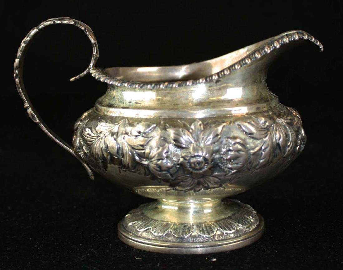 1825-26 Charles Fox London silver creamer