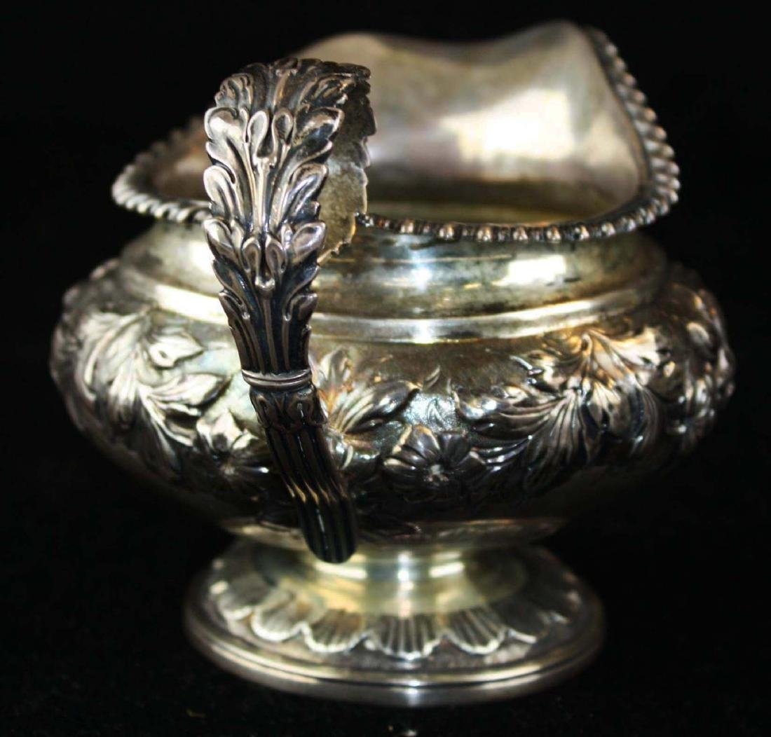 1825-26 Charles Fox London silver creamer - 2