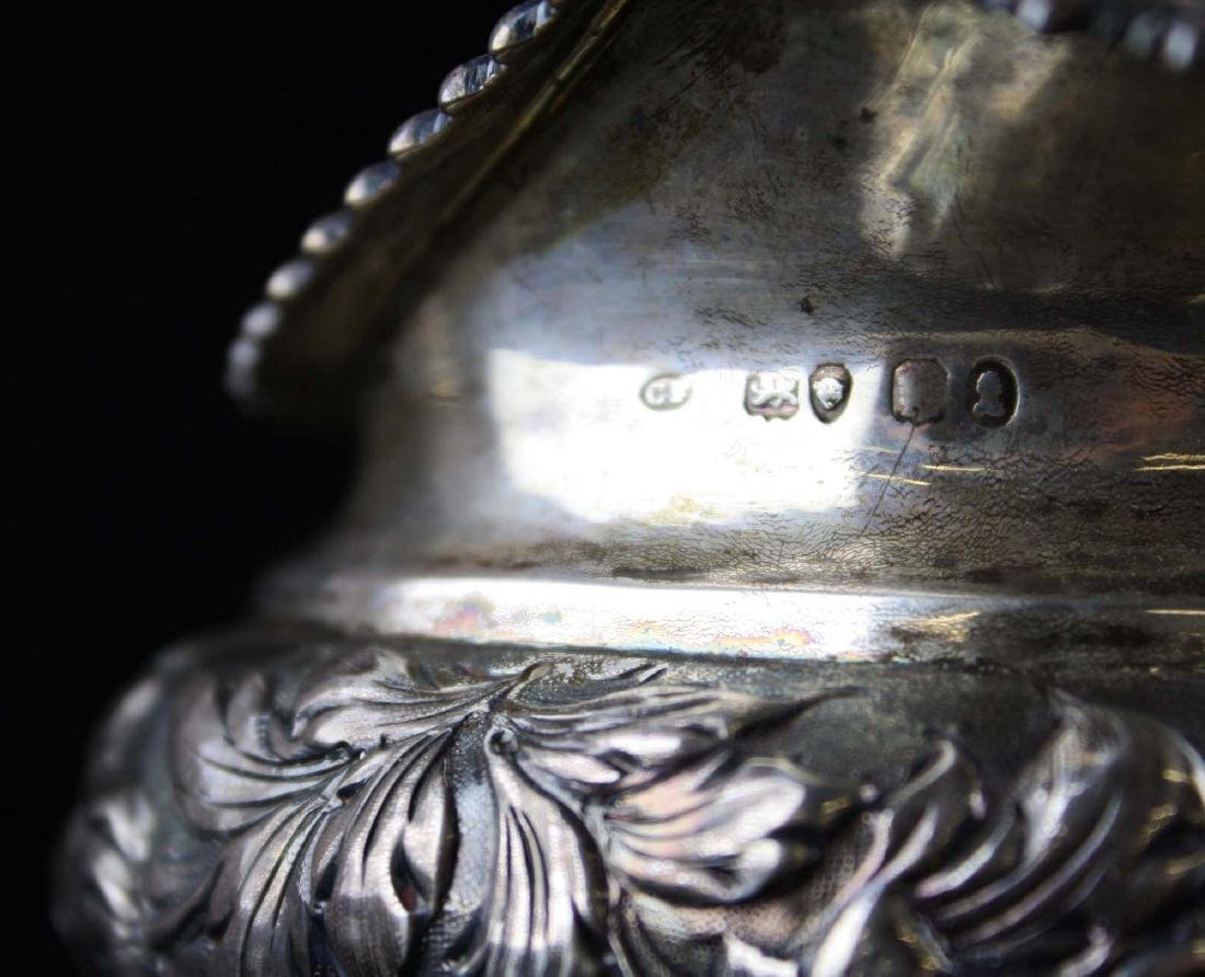 1825-26 Charles Fox London silver creamer - 5