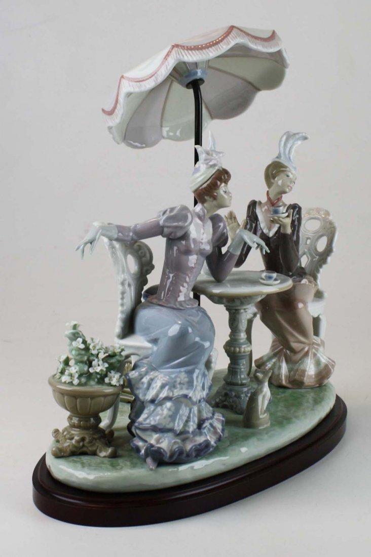 Lladro Café de Paris porcelain figure group - 2