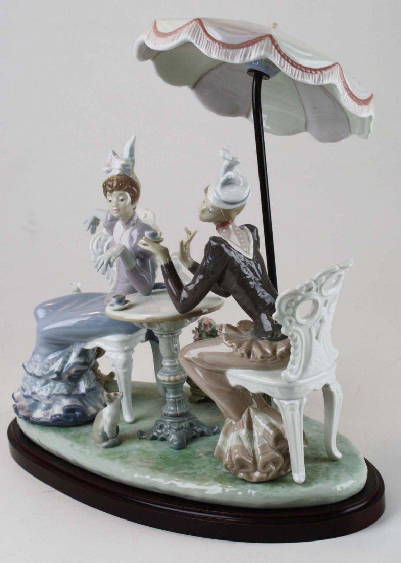 Lladro Café de Paris porcelain figure group - 4