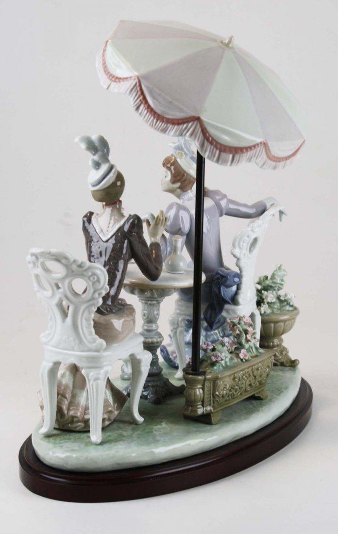 Lladro Café de Paris porcelain figure group - 5