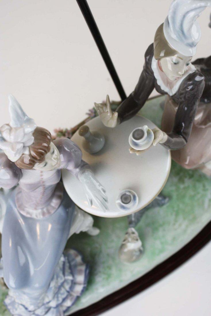 Lladro Café de Paris porcelain figure group - 6