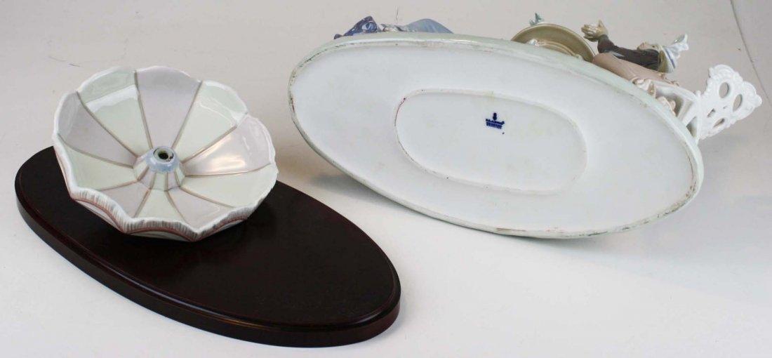 Lladro Café de Paris porcelain figure group - 9