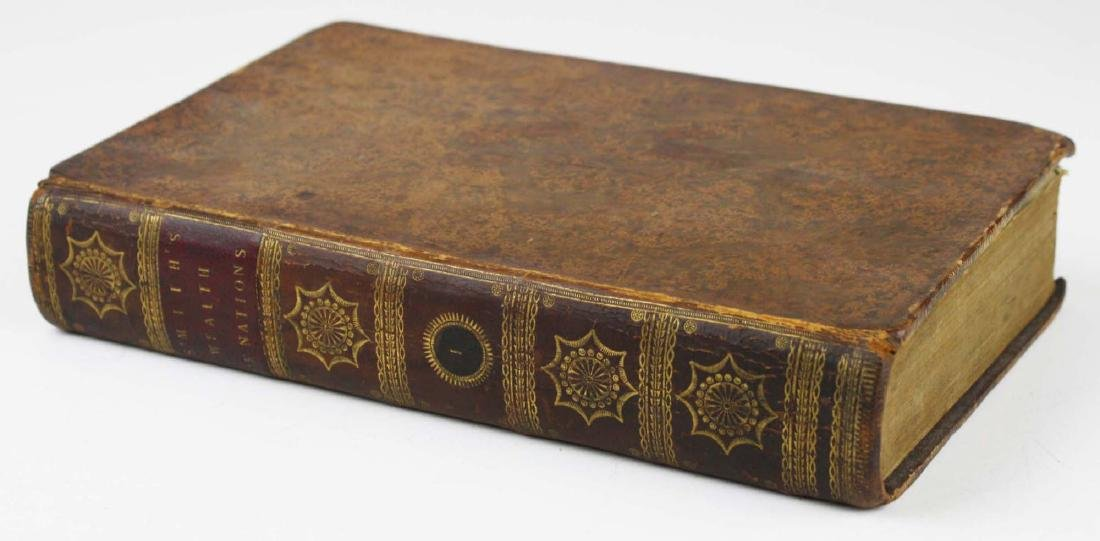 """1791 Adam Smith """"Wealth of Nations"""" vol 1 - 6"""