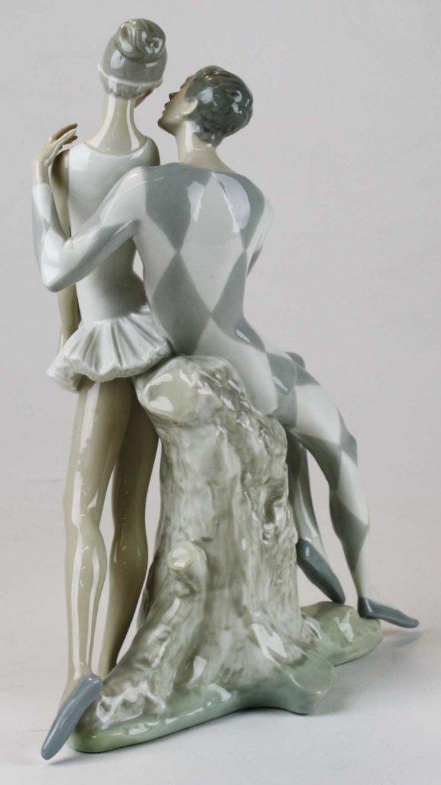 Lladro ballerina porcelain figural group - 3