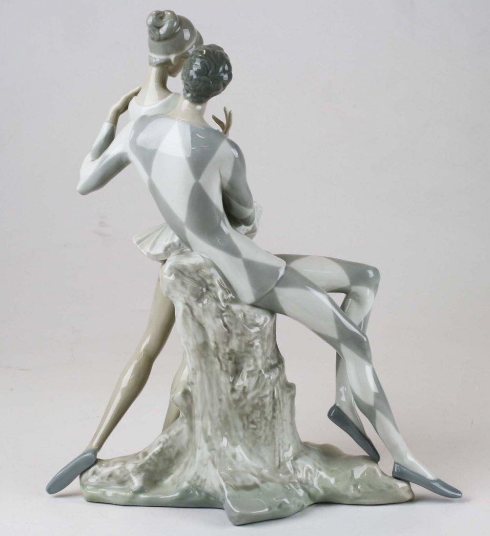 Lladro ballerina porcelain figural group - 4