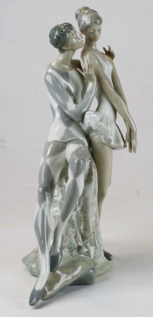 Lladro ballerina porcelain figural group - 5