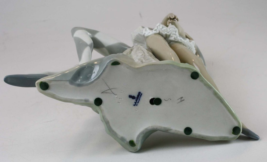 Lladro ballerina porcelain figural group - 6