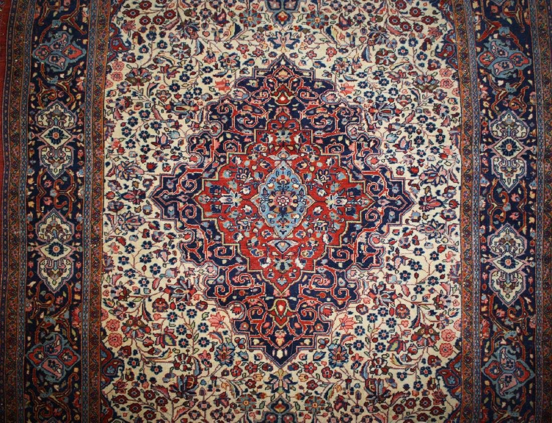 mid 20th c Persian Tabriz area rug - 3