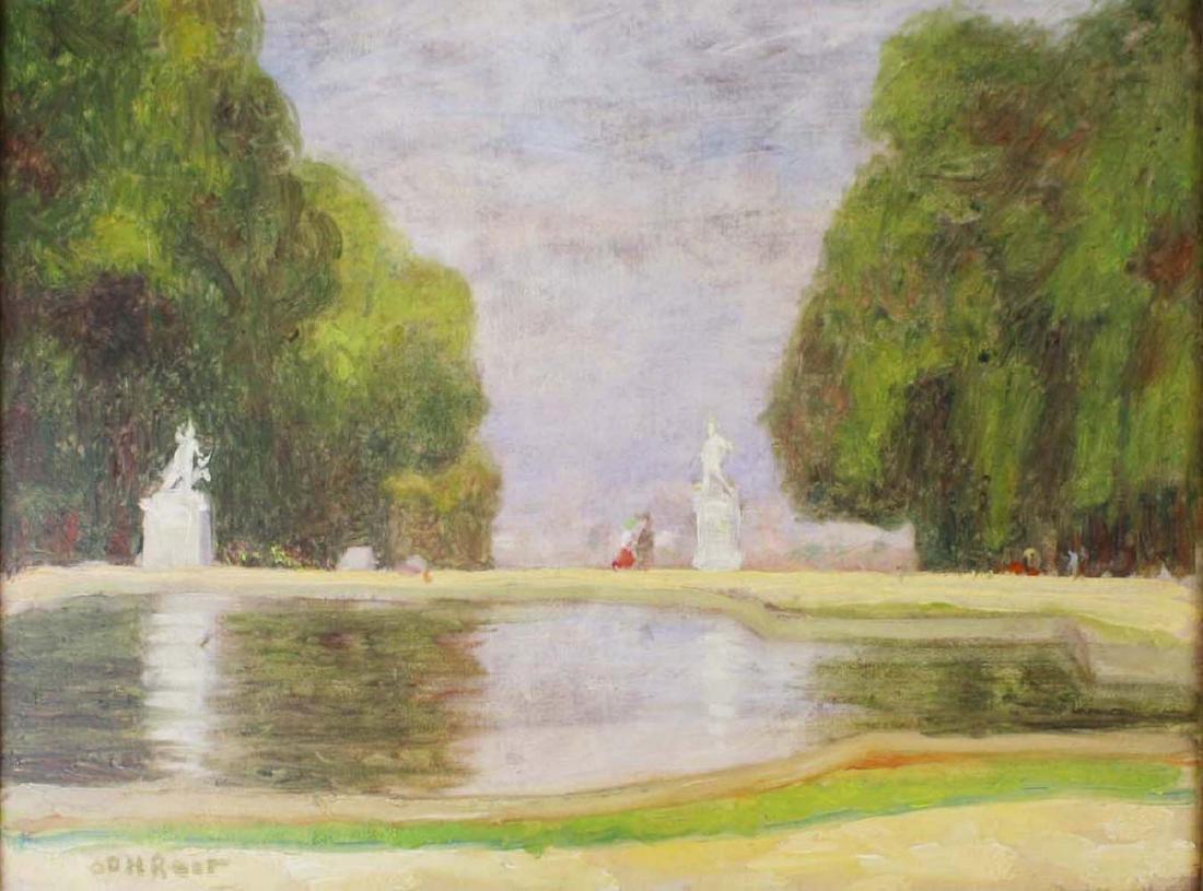 Orville Hoyt Root (AM 19th c) Garden - 2