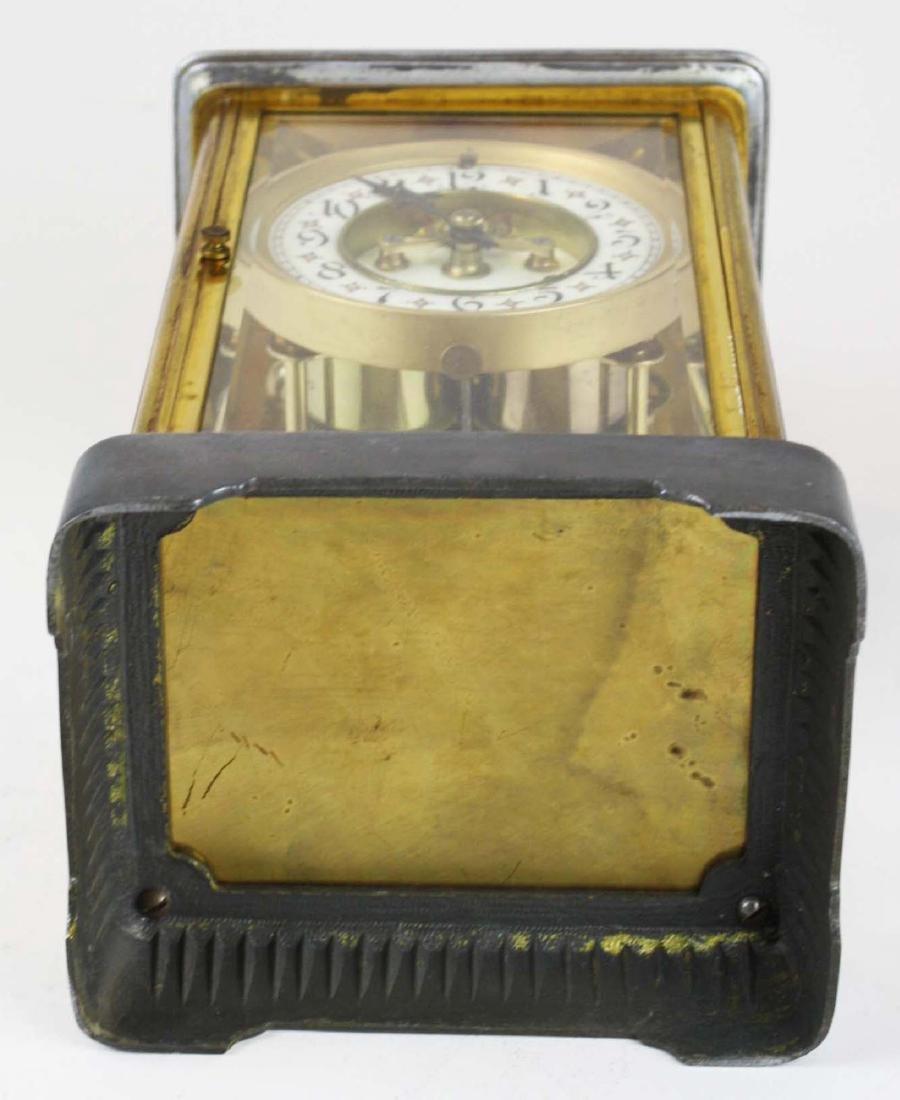 ca 1900 crystal regulator shelf clock - 6