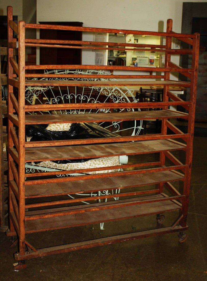 20th C baker's rack