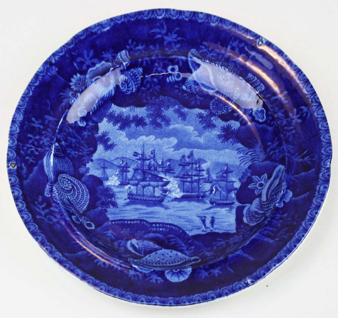 "Commodore MacDonough's Victory 9"" plate"