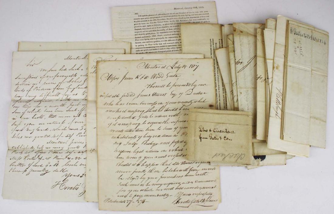 1817- 1819 Horatio Gates & Nephew lists