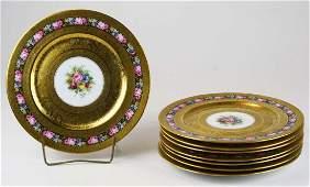 8 Heinrich Bavaria ornate dinner plates