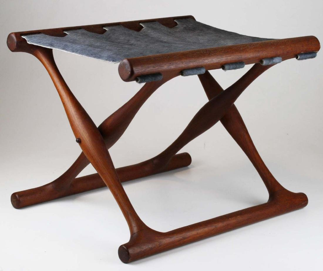 Rare Paul Hundevad Denmark stool