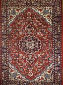 mid 20th c Persian area rug