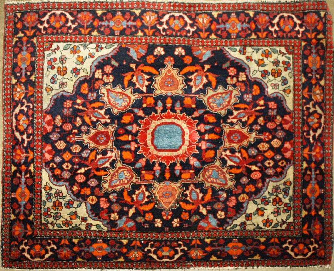 early 20th c Persian bag face/ rug