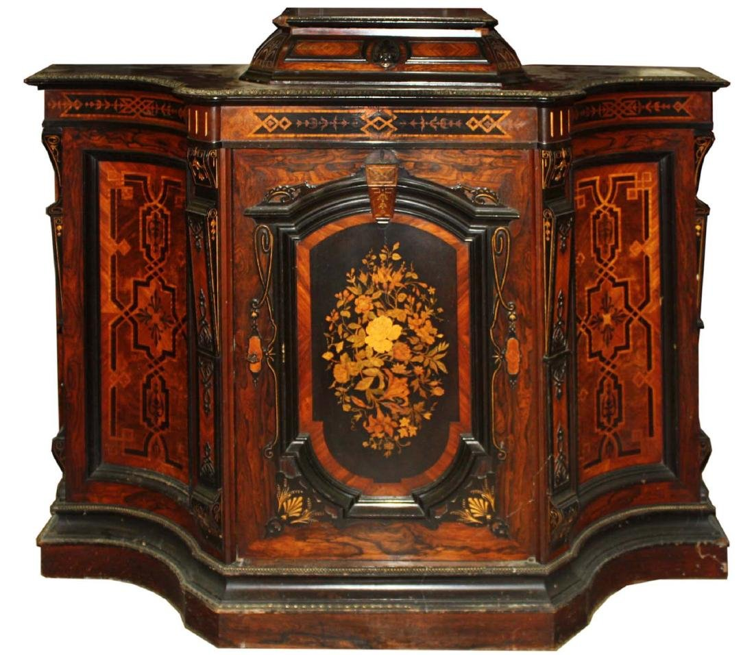 Pottier and Stymus NYC Parlor cabinet