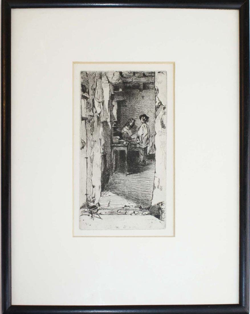 James Abbott McNeill Whistler (Am 1834-1903)