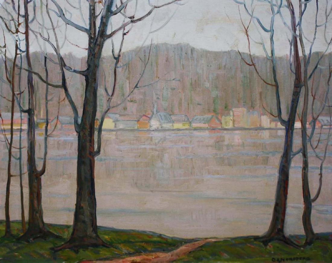 C. Albert Nordberg (1895-) Quiet River