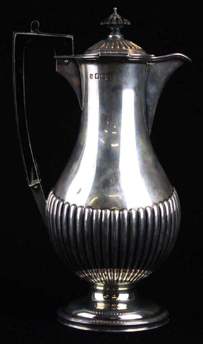 1892-93 Sheffield sterling coffee pot