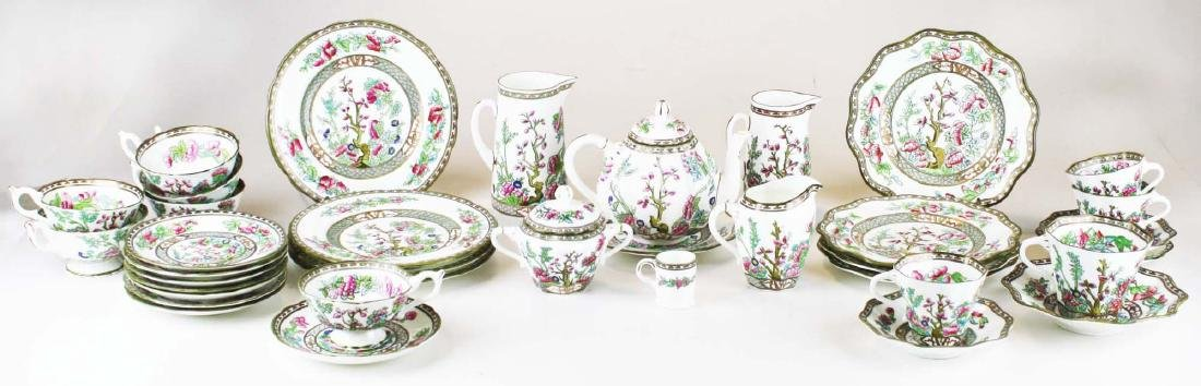 37 pcs Coalport Indian Tree dinnerware