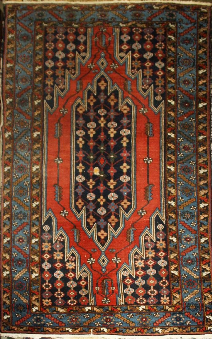 early 20th c Caucasian Daghestan area rug