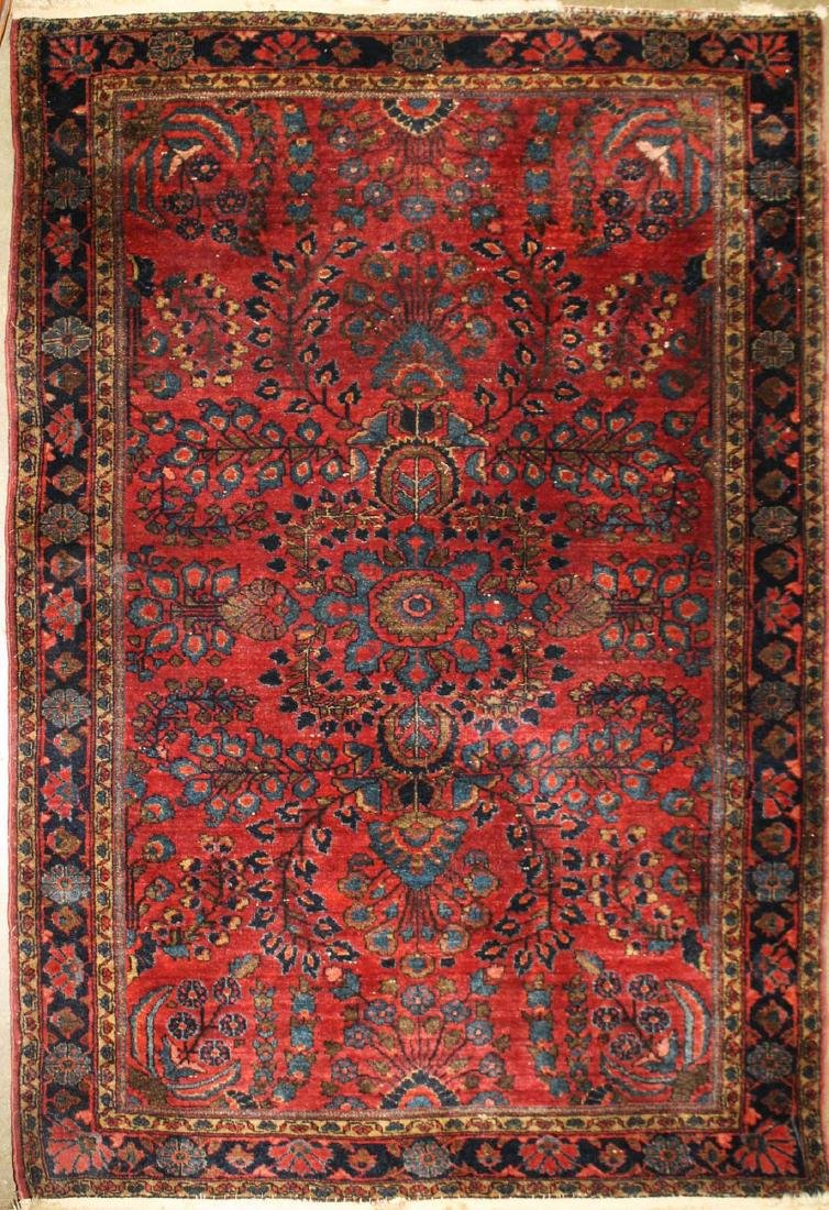 early 20th c Sarouk area rug