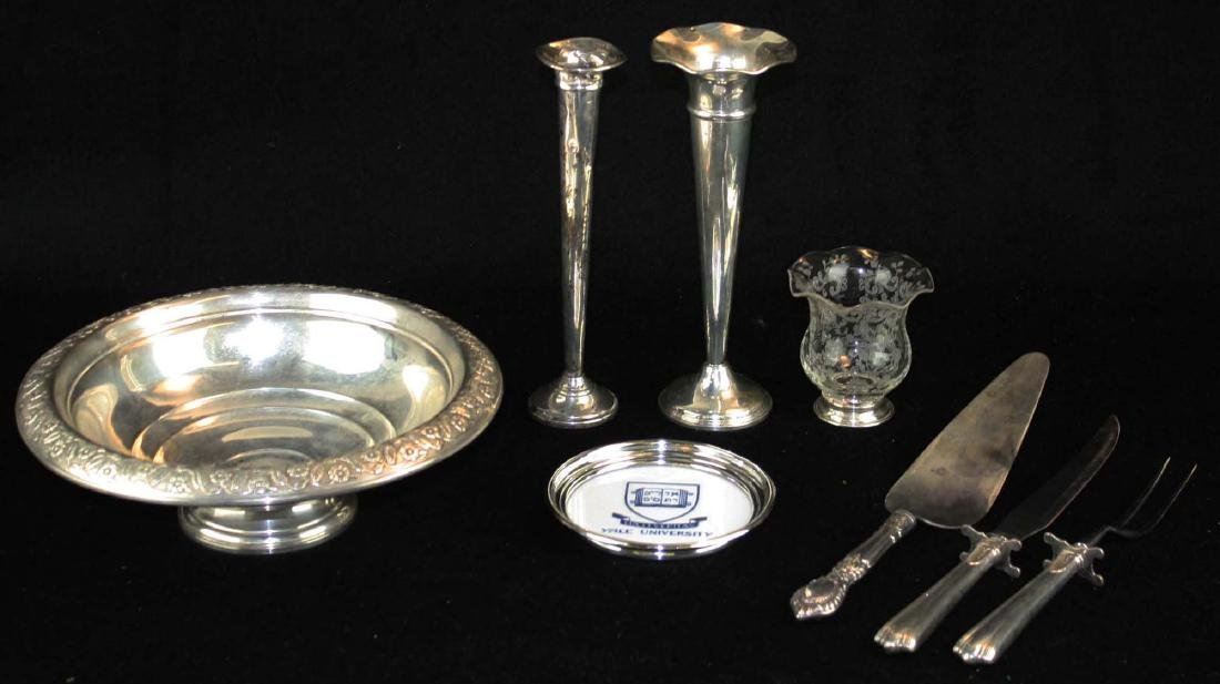 8 pcs. Sterling silver tableware