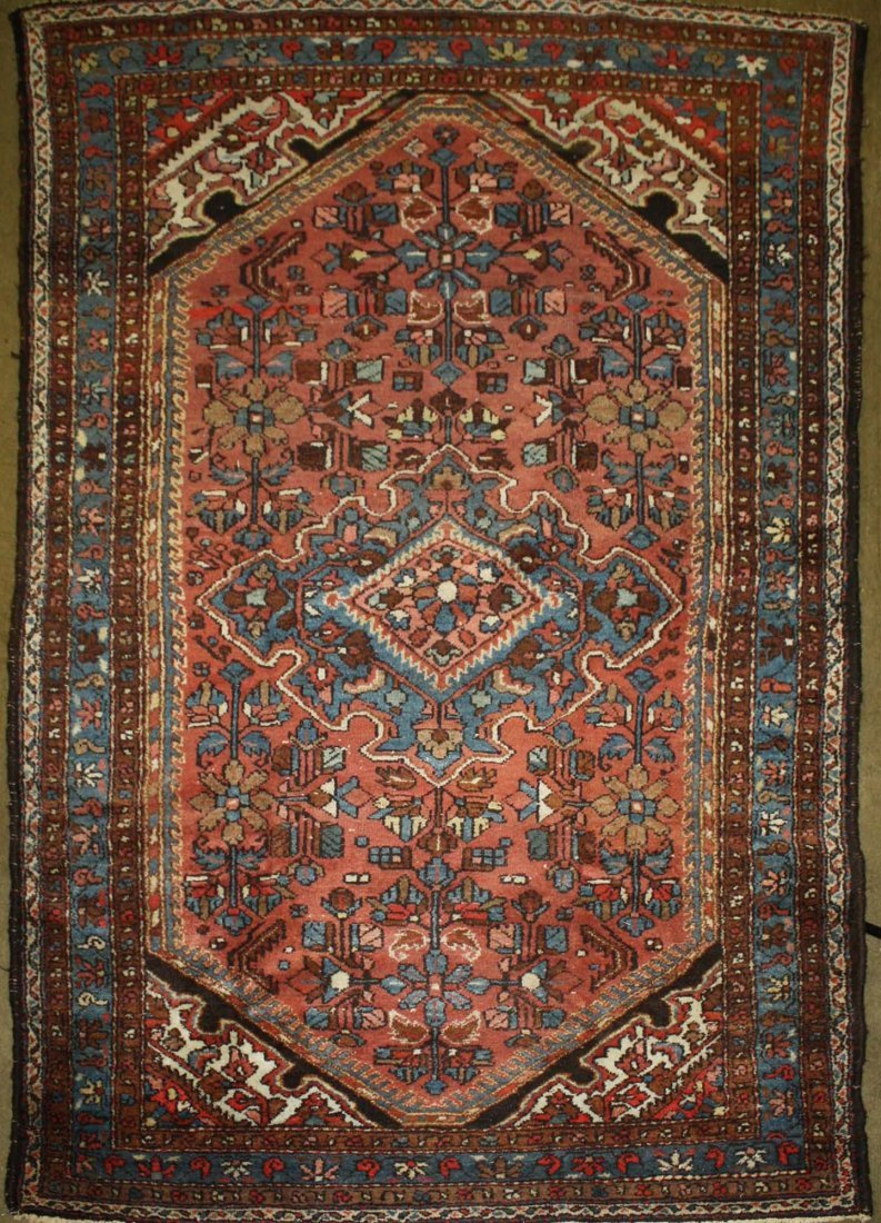 early 20th c Hamadan area rug