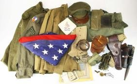 Wwii Era Us Military Uniform And Pieces