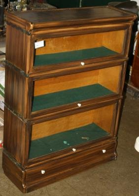 Three Section Stacking Bookcase