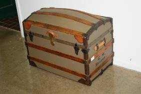 Dome Top Steamer Trunks