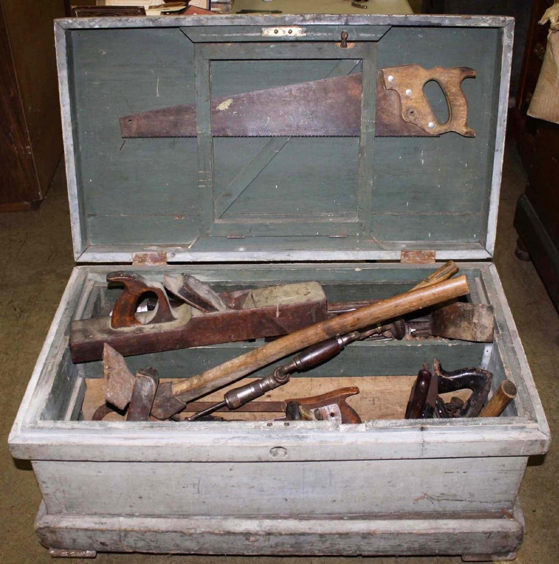 Early 20th C toolbox