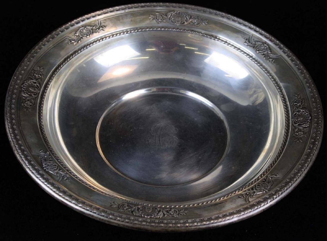 International sterling silver serving bowl